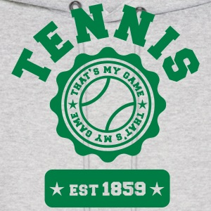 Tennis my Game Hoodies - Men's Hoodie