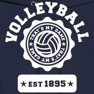 Volleyball my Game Hoodies - Men's Hoodie