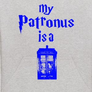 my patrons is a tardis Sweatshirts - Kids' Hoodie