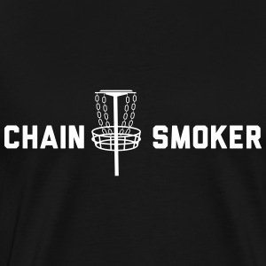 Chain Smoker - Disc Golf T-Shirts - Men's Premium T-Shirt