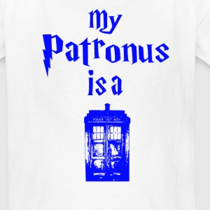 my patrons is a tardis Kids' Shirts - Kids' T-Shirt