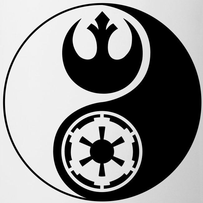 fandom shirts rebel alliance imperial yin yang coffeetea mug