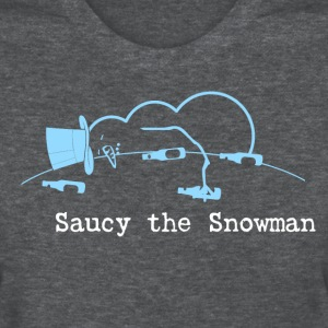 Saucy the Snowman with Title Women's T-Shirts - Women's T-Shirt