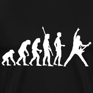 evolution_guitar_112013_a_1c T-Shirts - Men's Premium T-Shirt