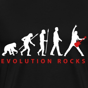evolution_guitar_112013_d_2c T-Shirts - Men's Premium T-Shirt