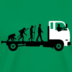 evolution_of_man_trucker_112013_a_2c T-Shirts - Men's Premium T-Shirt