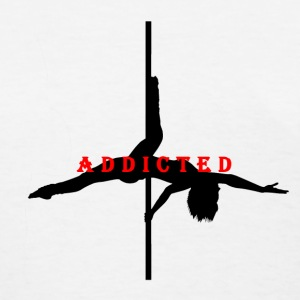 Addicted to Pole Black Women's T-Shirt - Women's T-Shirt