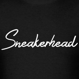 sneakerhead script T-Shirts - Men's T-Shirt