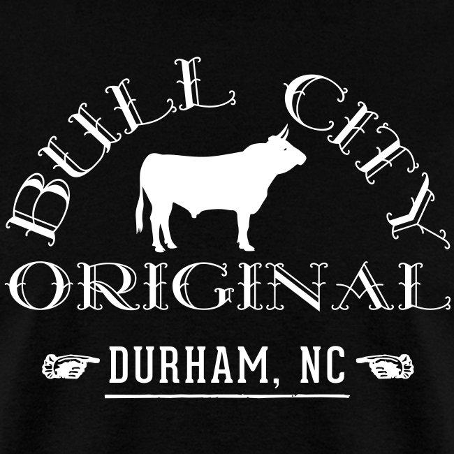 Bull City Original Bull City Orignal Bull Durham Nc Mens T Shirt