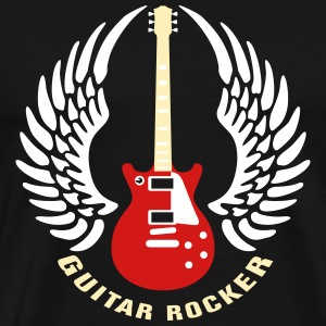guitar_rocker_112013_a_3c T-Shirts - Men's Premium T-Shirt