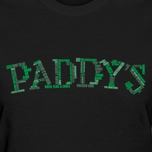 Paddy's Word Cloud - Women's T-Shirt