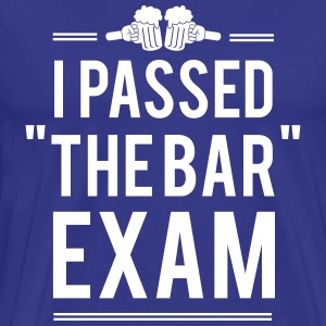 I passed the bar exam T-Shirts - Men's Premium T-Shirt