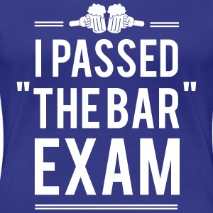 I passed the bar exam Women's T-Shirts - Women's Premium T-Shirt