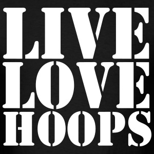 Live Love Hoops Shirt - Men's T-Shirt