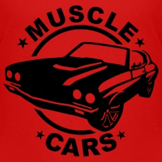 Muscle cars Kids' Shirts