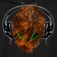Design ~ Cute Furry Alien DJ with Headphones