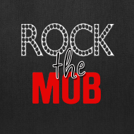 Design ~ Rock the Mob Canvas Tote
