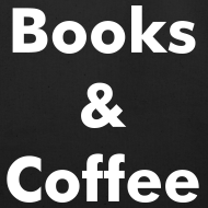 Design ~ Books & Coffee Tote - black