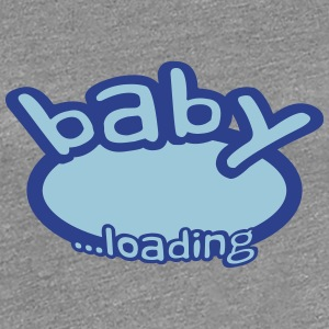 Baby Boy Is Loading Logo Women's T-Shirts - Women's Premium T-Shirt