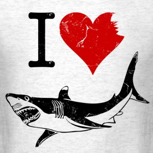 i_love_sharks T-Shirts - Men's T-Shirt