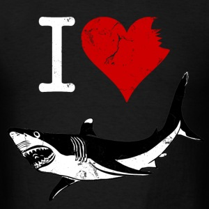 i_heart_sharks T-Shirts - Men's T-Shirt