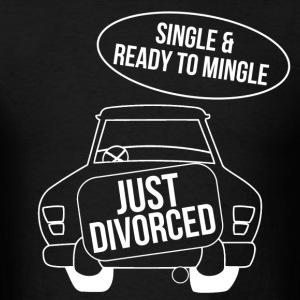 just_divorced T-Shirts - Men's T-Shirt