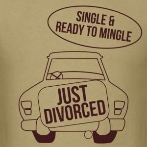 single_and_ready_to_mingle T-Shirts - Men's T-Shirt