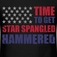 star_spangled_hammered T-Shirts
