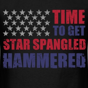 star_spangled_hammered T-Shirts - Men's T-Shirt