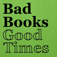 Design ~ Bad Books, Good Times Logo - Tote Bag (Lime Green)