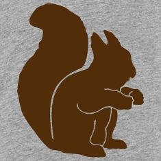 Wildlife: the squirrel Kids' Shirts