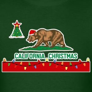 California Christmas Men's T-shirt - Men's T-Shirt