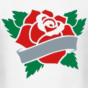 Rose Tattoo T-Shirts - Men's T-Shirt
