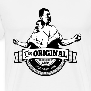 The Original Overly Manly Man T-Shirts - Men's Premium T-Shirt