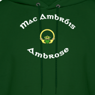 Design ~ Ambrose Family Claddagh Sweat for Men and Women