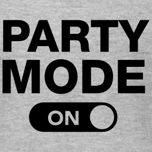 Party Mode (On) T-Shirts - Men's T-Shirt by American Apparel