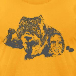 Wombat - Grey T-Shirts - Men's T-Shirt by American Apparel