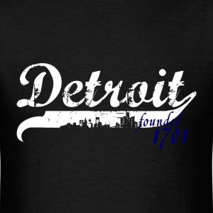 Detroit 1701 T-Shirts - Men's T-Shirt