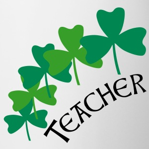 Teacher Shamrocks  Bottles & Mugs - Coffee/Tea Mug