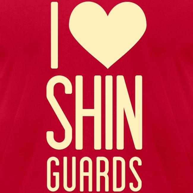 I Heart Shin Guards Men's Tee