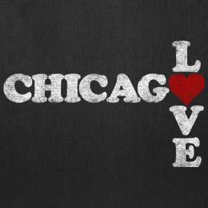 Chicago Love Heart Bags & backpacks - Tote Bag