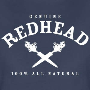 Genuine Redhead All Natural - Women's Premium T-Shirt