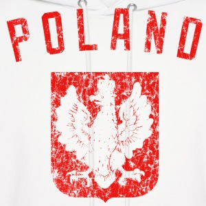 Poland Coat of Arms Hoodies - Men's Hoodie