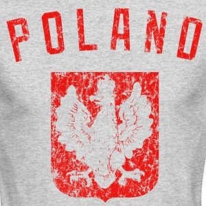 Poland Coat of Arms Long Sleeve Shirts - Men's Long Sleeve T-Shirt by Next Level