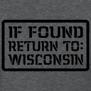 If Found Return To Wisconsin Women's T-Shirts - Women's T-Shirt