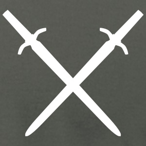 crossed swords T-Shirts - Men's T-Shirt by American Apparel
