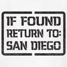 If Found Return to San Diego Kids' Shirts