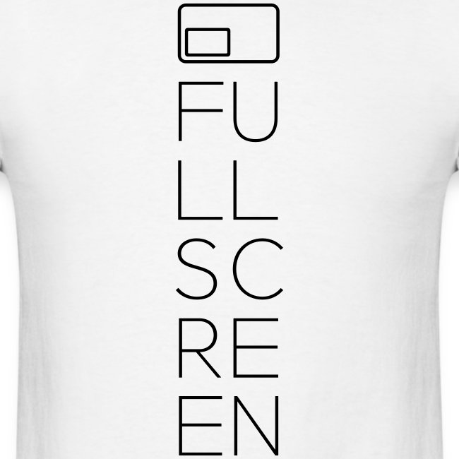Fullscreen Vertical Men's T-Shirt