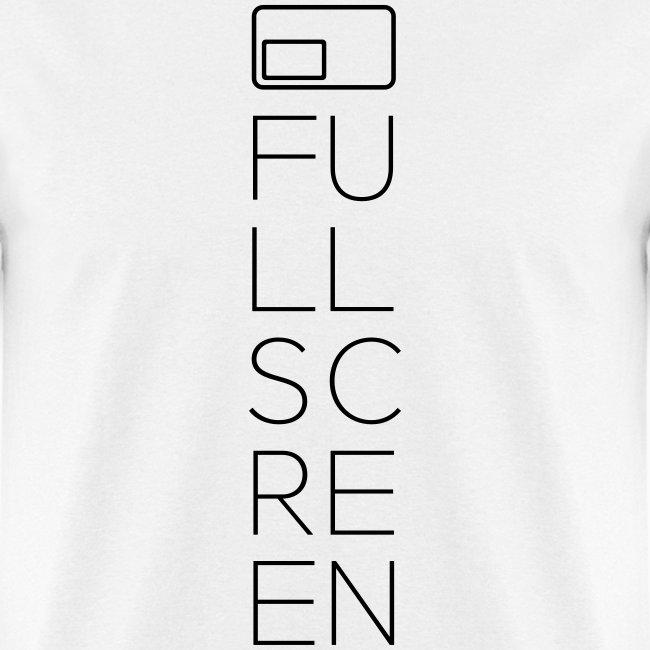 Fullscreen Vertical Men's T-Shirt