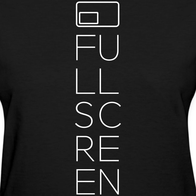 Fullscreen Vertical Women's T-Shirt
